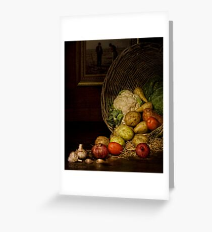 Old Masters Series (print 5)  Greeting Card