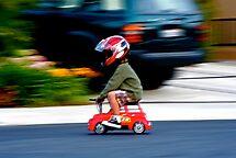 Go Speed Racer Go by abfabphoto