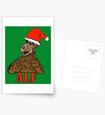 Christmas ALF Postcards