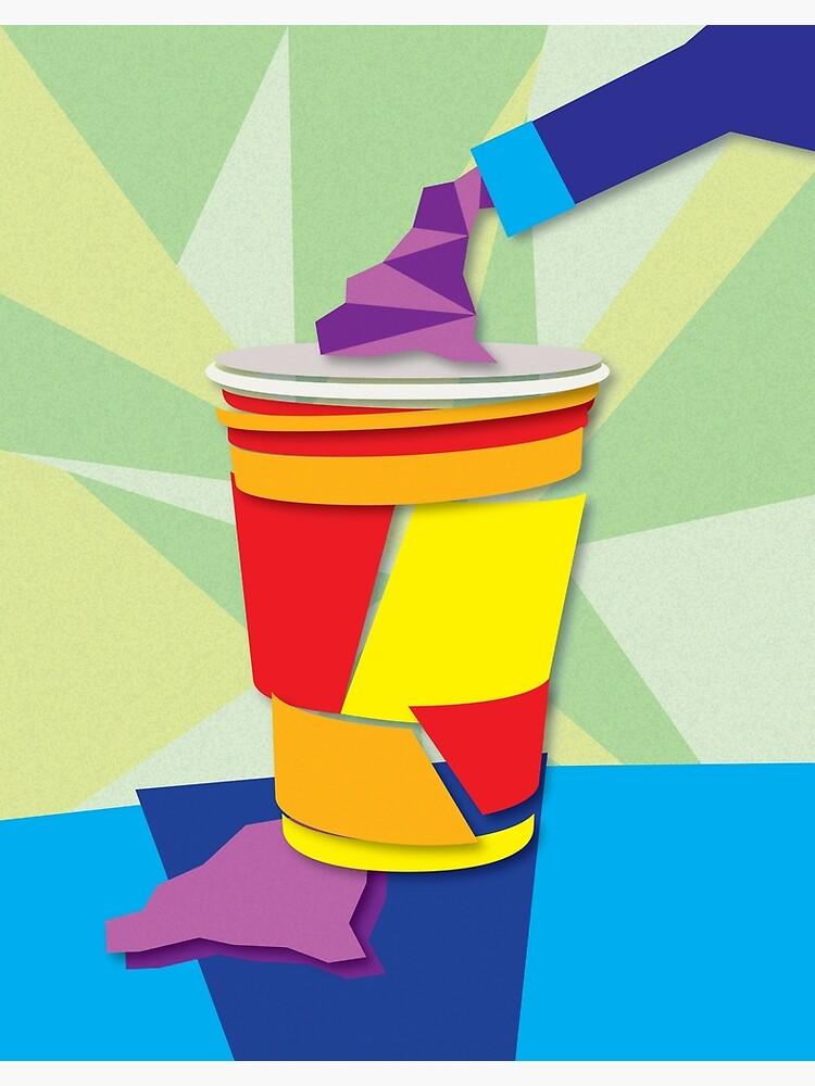 Cubist Solo Cup by alexamorgan