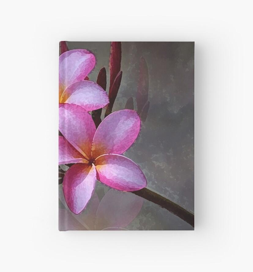 Hawaiian Pink Plumeria Cluster by JMarielle