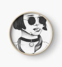 Mathilda From Leon The Professional Clock