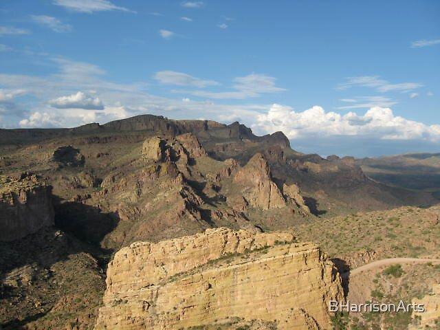 Superstition Mountains, Arizona, USA by BHarrisonArts