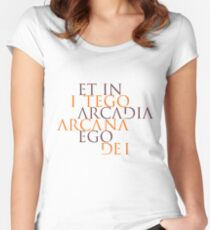 Et In Arcadia Ego Women's Fitted Scoop T-Shirt