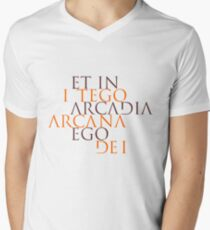 Et In Arcadia Ego Men's V-Neck T-Shirt