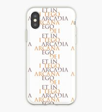 Et In Arcadia Ego iPhone Case