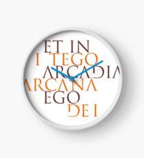 Et In Arcadia Ego Clock