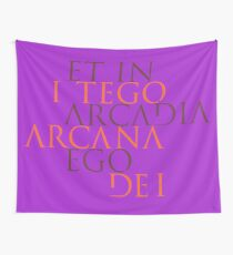 Et In Arcadia Ego Wall Tapestry