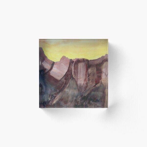 Grand Canyon Sunset Acrylic Block