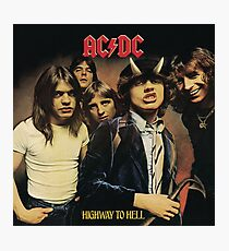 AC DC - Highway To Hell Photographic Print