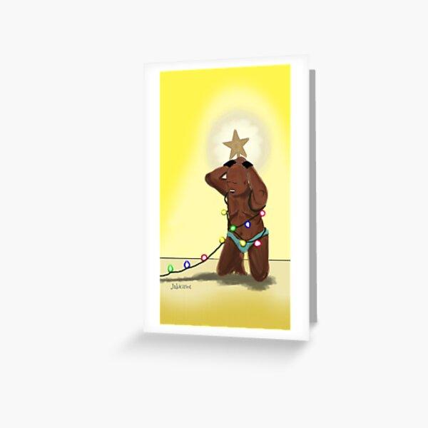 Light me up Greeting Card