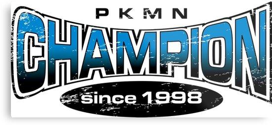 Pokemon Champion_Blue by Jemma Rich