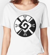 Hunab Ku Mayan Symbol Women's Relaxed Fit T-Shirt