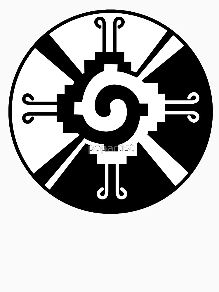 Hunab Ku Mayan Symbol Unisex T Shirt By Popartist Redbubble