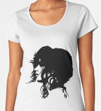 Camila Cabello (black version) Women's Premium T-Shirt