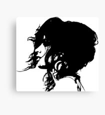 Camila Cabello (black version) Canvas Print