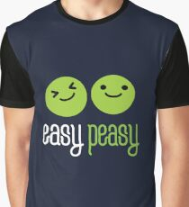 Easy peasy vegetables  Graphic T-Shirt
