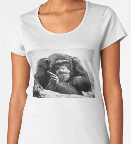 You talking to me? Women's Premium T-Shirt