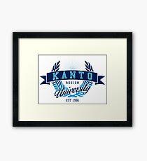 Kanto Region University Framed Print