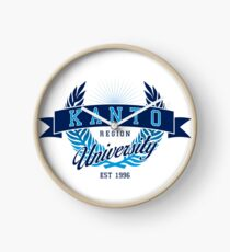 Kanto Region University Clock