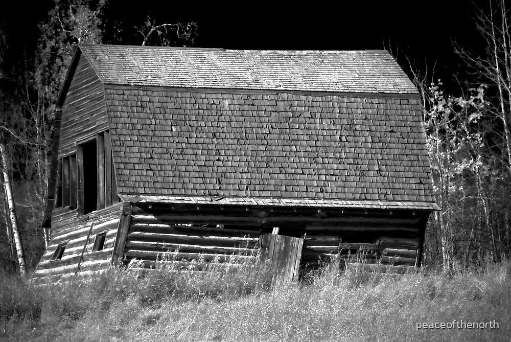 B/W Barn... Infared by peaceofthenorth