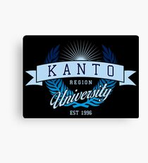 Kanto Region University_Dark BG Canvas Print
