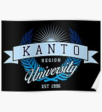 Kanto Region University_Dark BG Poster