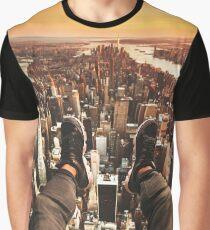 flying over manhattan Graphic T-Shirt