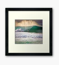 Andy Irons - End of Light Framed Print