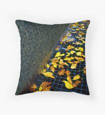 Autumn Grate Throw Pillow