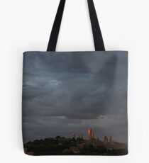 San Gimignano in Sunset Tote Bag