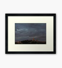San Gimignano in Sunset Framed Print
