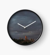 San Gimignano in Sunset Clock