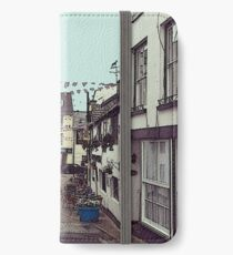 Ilfracombe Streetscape iPhone Wallet/Case/Skin