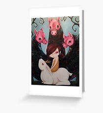 Lilith and the Snubblers Greeting Card