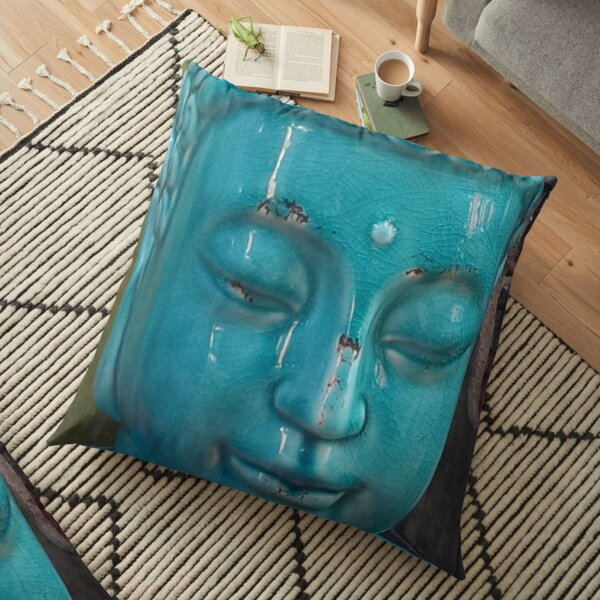 Street Corner Buddha Floor Pillow
