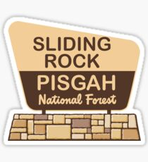 Sliding Rock, Pisgah National Forest Sticker