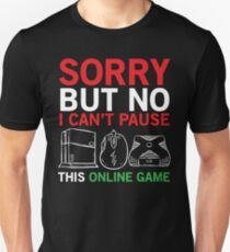 Online Game Funny Video Gamer T-shirt T-Shirt