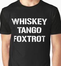Whiskey Tango Foxtrot Shirt WTF phonetic alphabet Aviation shirts Graphic T-Shirt