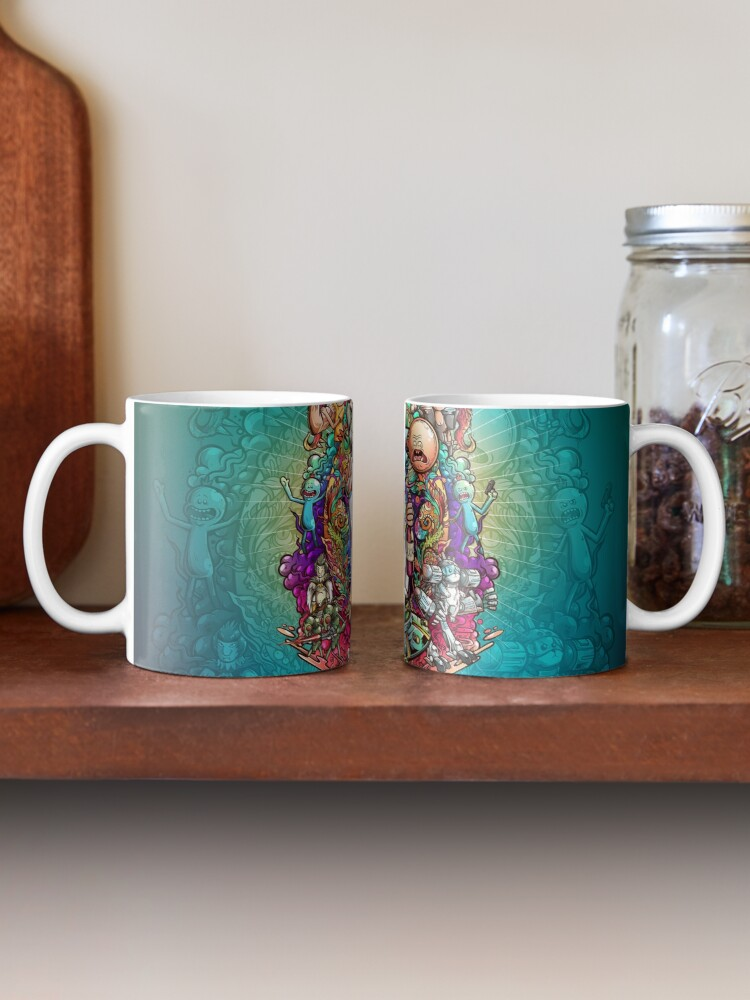 Alternate view of Buckle Up Morty! Mug