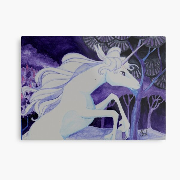 She is the Last Metal Print