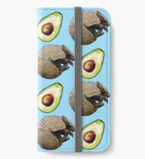 Avocado and Armadillo Pattern iPhone Wallet/Case/Skin