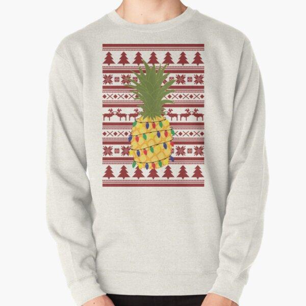 Ugly Christmas Sweater Pineapple Pullover Sweatshirt