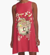 Kawaii Ramen A-Line Dress
