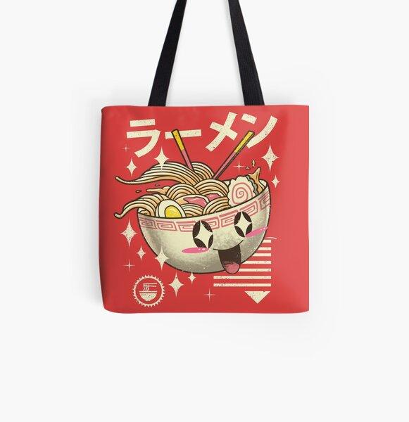 Kawaii Ramen All Over Print Tote Bag