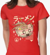 Kawaii Ramen Women's Fitted T-Shirt