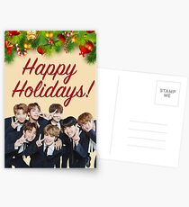 BTS Holiday Card Postcards