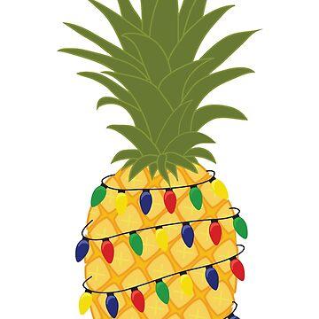 Christmas Pineapple by carlie27