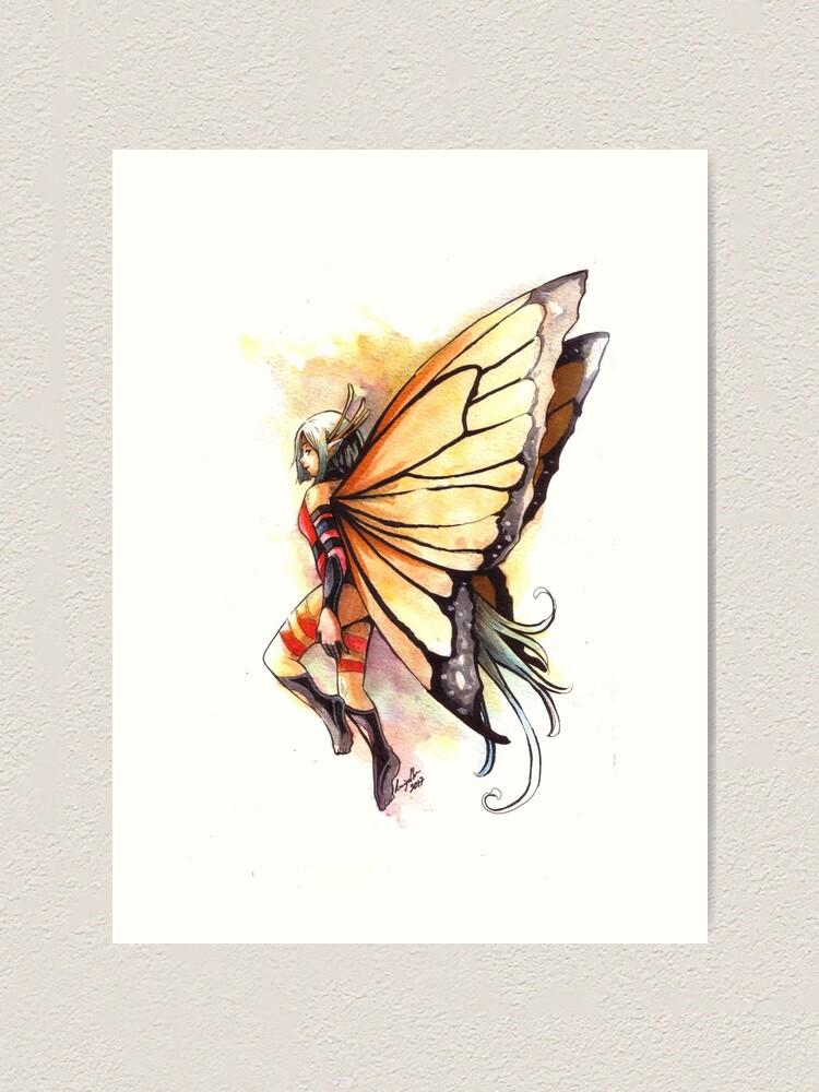 Alternate view of The Poison Fairy Art Print