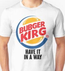 Bubger kirg Unisex T-Shirt